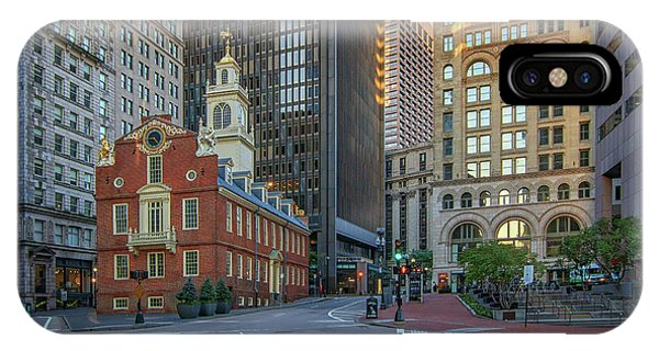 Early Morning At The Old Statehouse IPhone Case