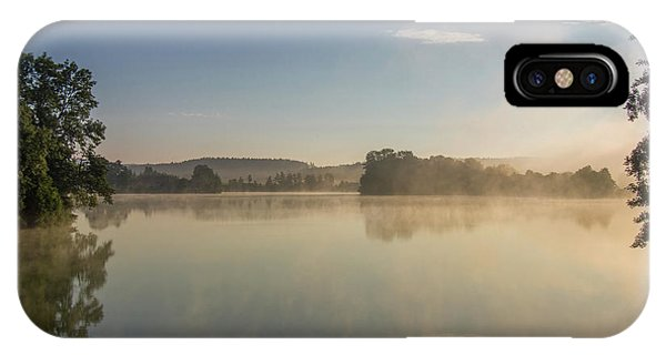 iPhone Case - Early Morning At The Pond  by Michal Boubin