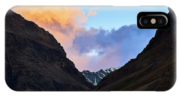 Early Morning Clouds In Sarchu IPhone Case