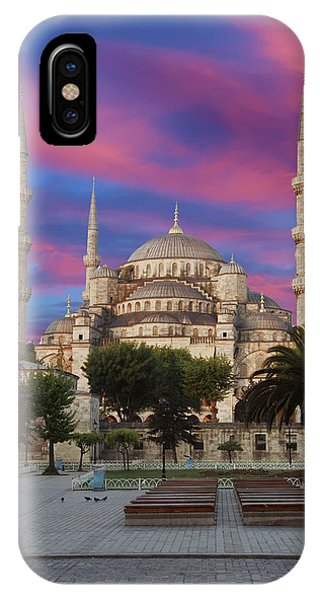Early Morning Light On  Sultan Ahmet Camii IPhone Case
