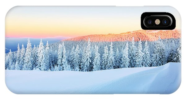 Hot iPhone Case - Early Morning Sunbeam Shelter Sky And by Vitalii mamchuk