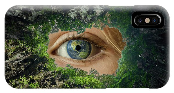 Earth Is Watching You IPhone Case