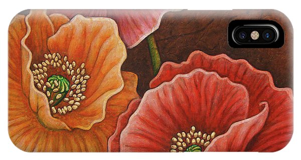 IPhone Case featuring the painting Earth Serenade by Amy E Fraser