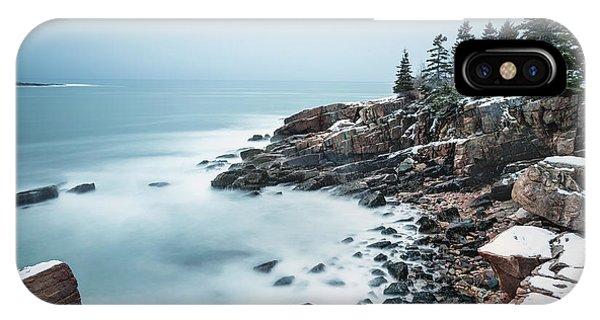 New England Coast iPhone Case - East Coast Winters by Evelina Kremsdorf