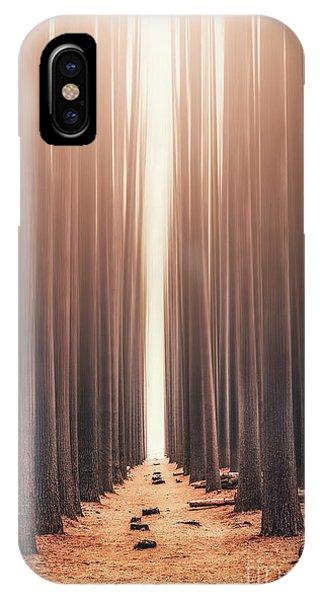 Nsw iPhone Case - Echoes Rising by Evelina Kremsdorf