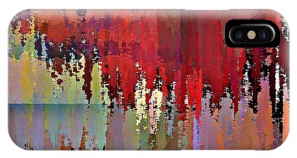 IPhone Case featuring the digital art Ecumenopolis by David Manlove