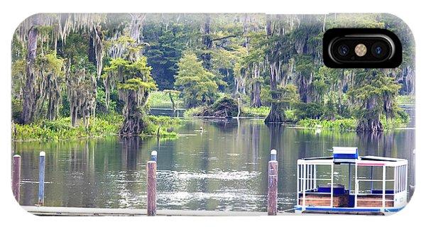 Wakulla iPhone Case - Edward Ball Wakulla Springs State Park, Florida by Felix Lai