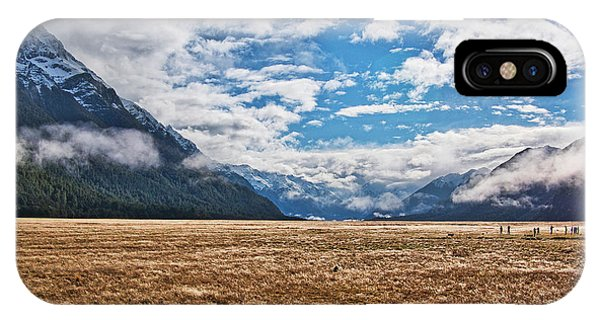 IPhone Case featuring the photograph Eglinton Valley - New Zealand by Steven Ralser