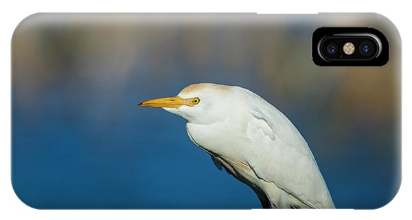 Egret On A Stick IPhone Case
