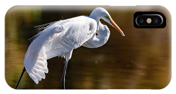 Egret Yoga IPhone Case