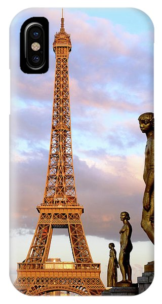 Eiffel Tower At Sunset IPhone Case