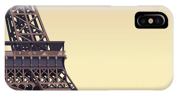 Famous People iPhone Case - Eiffel Tower At Sunset by Nikola Knezevic