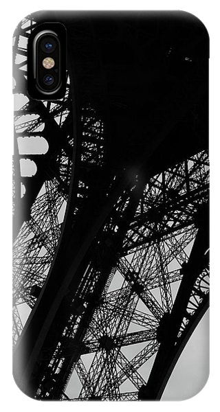 IPhone Case featuring the photograph Eiffel Tower, Base by Edward Lee