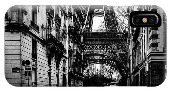 Eiffel Tower - Classic View IPhone Case