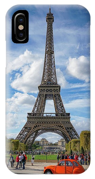 IPhone Case featuring the photograph Eiffel Tower by Jim Mathis