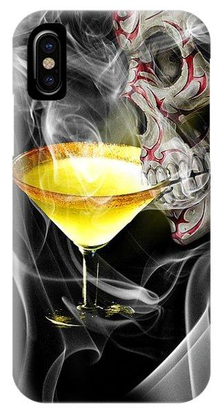 Smoke Fantasy iPhone Case - Elderly Immortality by ArtMarketJapan