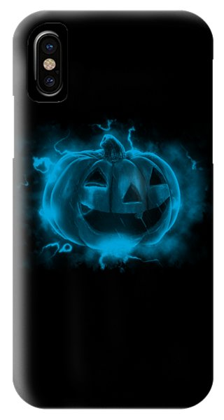 Electric Pumpkin IPhone Case