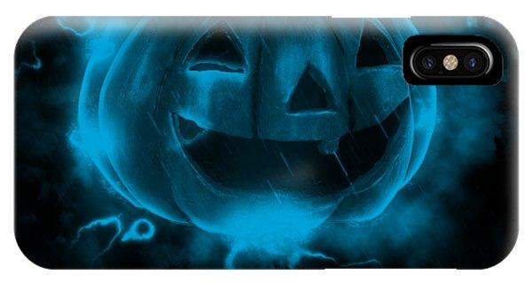 Electric Pumpkin IPhone Case