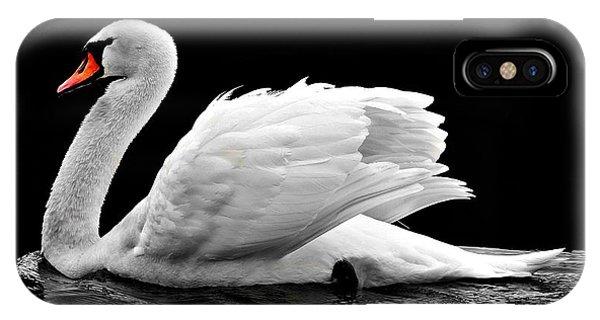 Elegant Swan IPhone Case