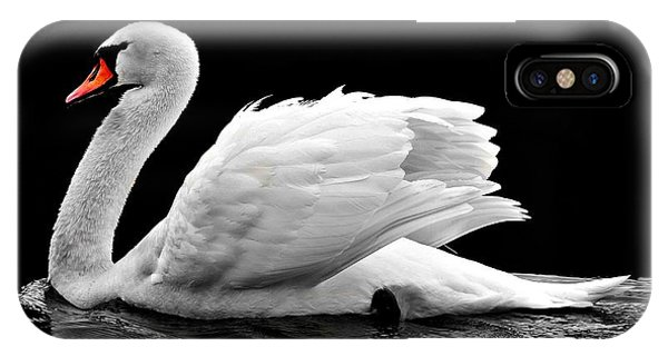 Elegant Swan IPhone Case