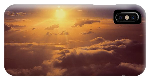 Sun Rays iPhone Case - Elevation by Jorgo Photography - Wall Art Gallery