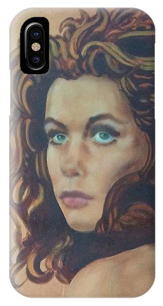 Samantha iPhone Case - Elizabeth Detail by James Bateman