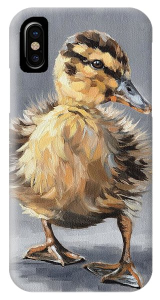 Mallard iPhone Case - Ella by Rachel Stribbling