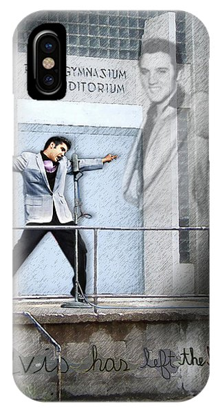 Elvis Has Left The Building IPhone Case