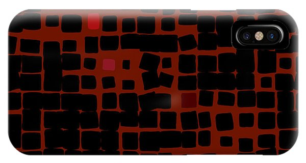 IPhone Case featuring the digital art Ember by Attila Meszlenyi