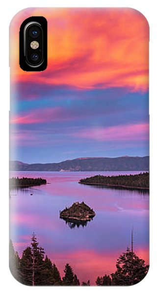 Emerald Bay Explode IPhone Case