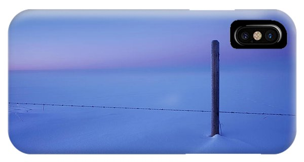 Empty And Cold IPhone Case