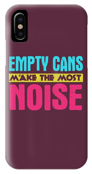 Empty Cans IPhone Case