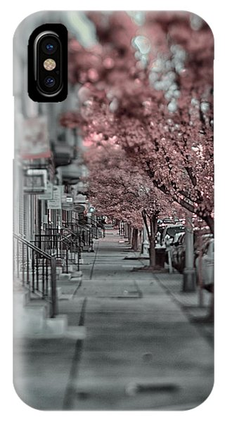 Empty Sidewalk IPhone Case