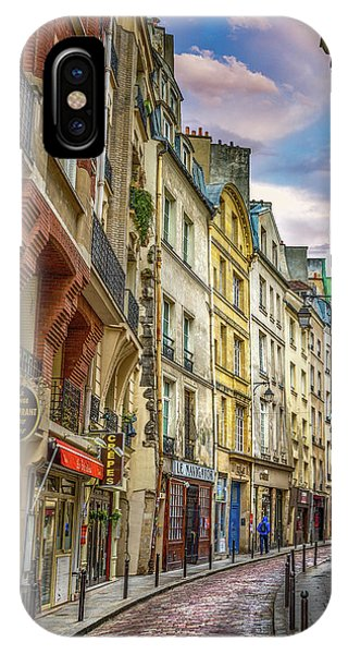 Paris Metro iPhone Case - Empty Streets Of Paris by Darren White