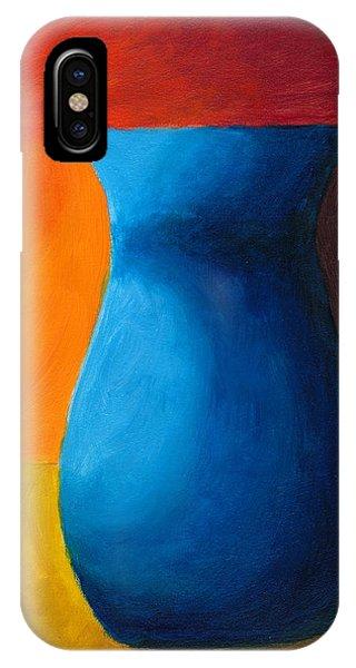Empty Vases- Blue IPhone Case