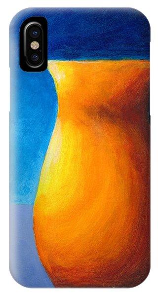 Empty Vases - Orange IPhone Case