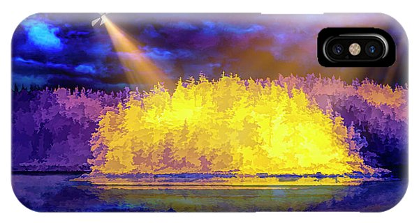 IPhone Case featuring the photograph Encounter by Mike Braun