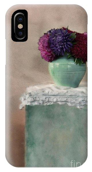Teal iPhone Case - End Of Summer Still Life by Priska Wettstein