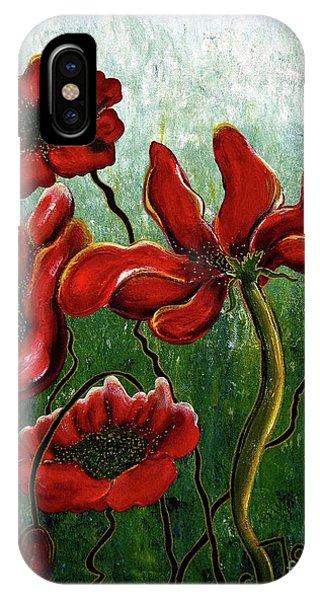 Endless Poppy Love IPhone Case