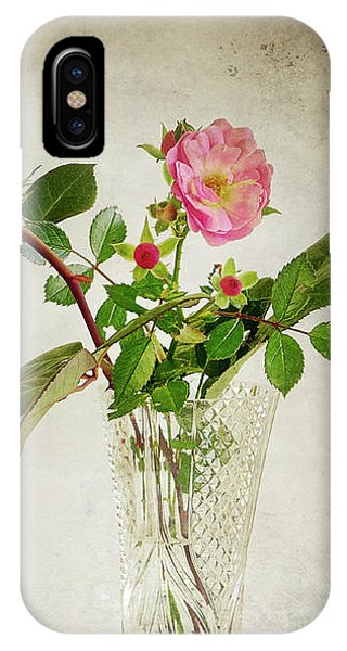 IPhone Case featuring the digital art English Rose by Edmund Nagele