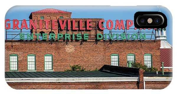 Enterprise Mill - Graniteville Company - Augusta Ga 1 IPhone Case