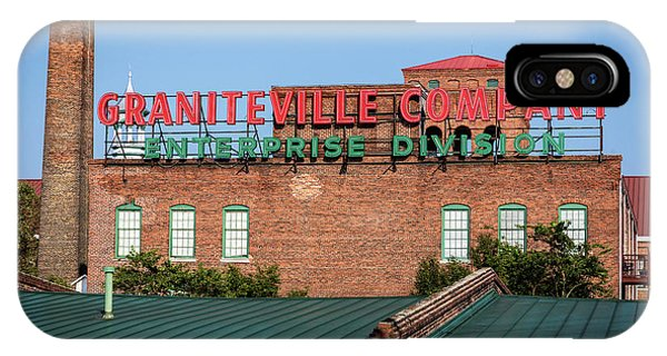 Enterprise Mill - Graniteville Company - Augusta Ga 2 IPhone Case