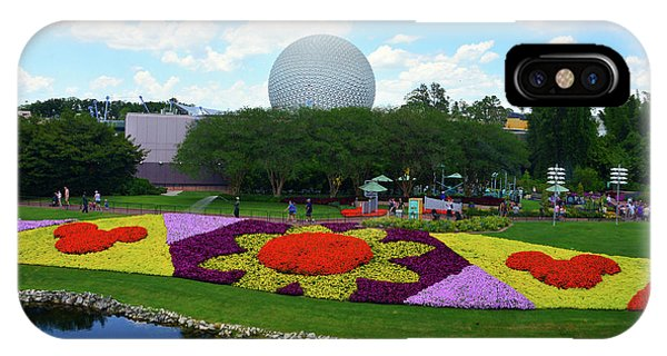 iPhone Case - Epcot Flower And Garden Fest 2019 Poster B by David Lee Thompson