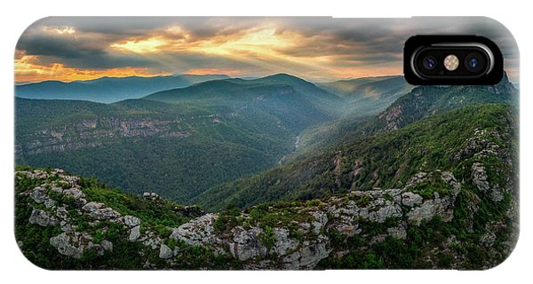 Epic Linville The Chimneys IPhone Case