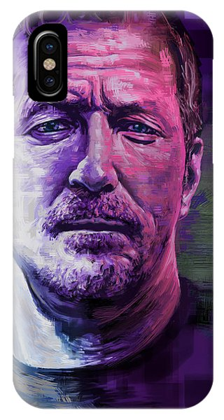 Eric Clapton iPhone Case - Eric Clapton Portrait by Garth Glazier