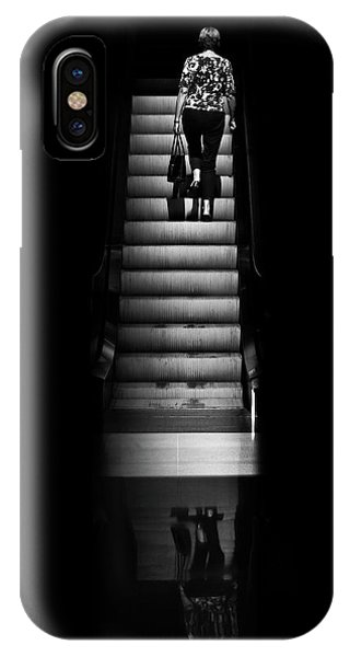IPhone Case featuring the photograph Escalator No 2 by Brian Carson