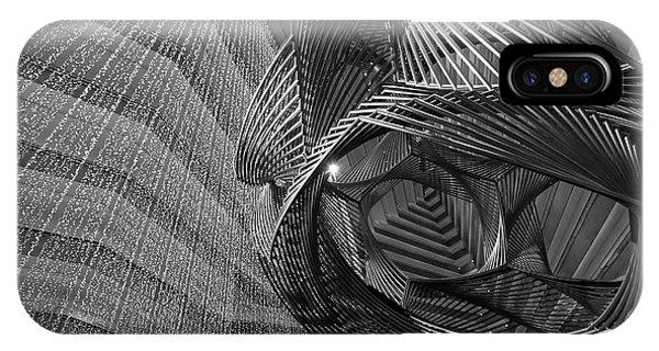 Escher's Summer Cottage IPhone Case