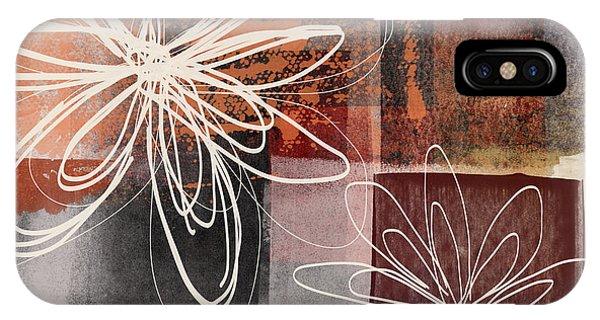 Mustard iPhone Case - Espresso Flower 2- Art By Linda Woods by Linda Woods