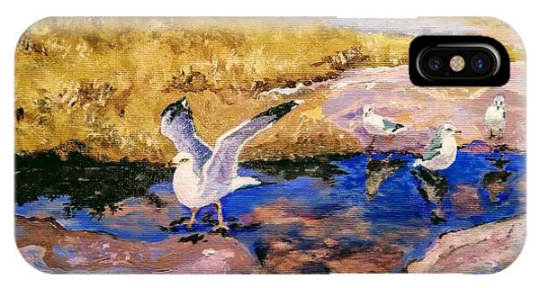 IPhone Case featuring the painting Essence Of Life by Ray Khalife