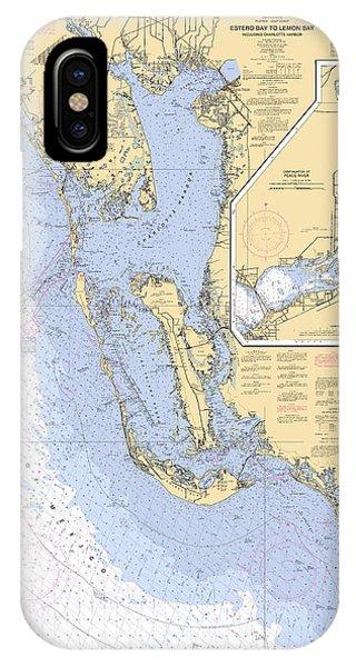 Estero Bay To Lemon Bay, Noaa Chart 11426 IPhone Case
